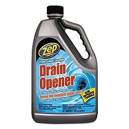 Zep Commercial 1047518 Professional Strength Drain Opener, 1 gal Bottle
