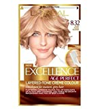 L'Oréal Paris Excellence Age Perfect 8.32 Pure Pearl Blonde - Pack of 6