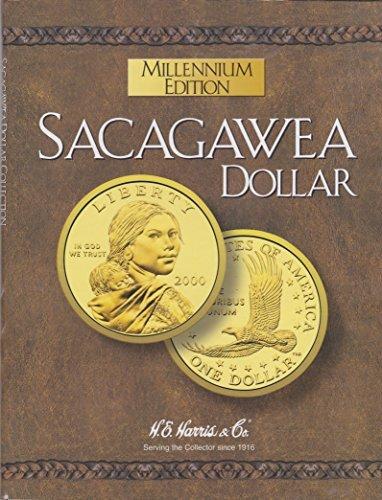 SACAGAWEA 2000 MILLENNIUM EDITION GOLDEN DOLLAR NEW ALBUM-BOOK-FOLDER-HOLDER (2000 Dollars)