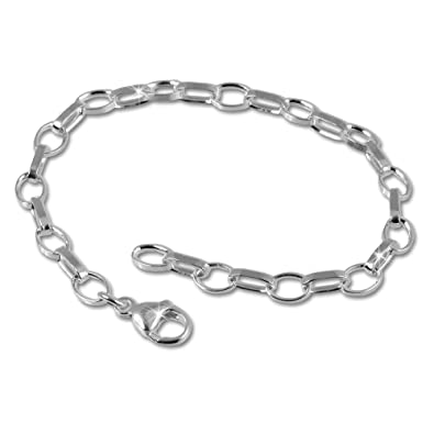 Armband silber  SilberDream Armband 925 Sterling Silber Charm Bettelarmband 18cm ...