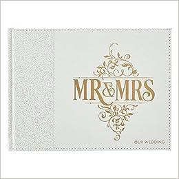 Mr & Mrs Wedding Guest Book: Christian Art Gifts