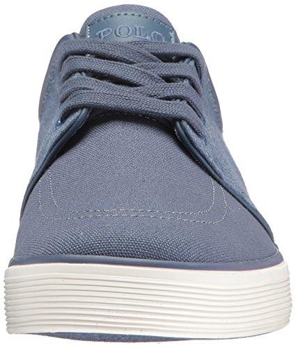 Polo Ralph Lauren Mens Faxon Low-canvas / Jrsy Hthr Sneaker Blauw