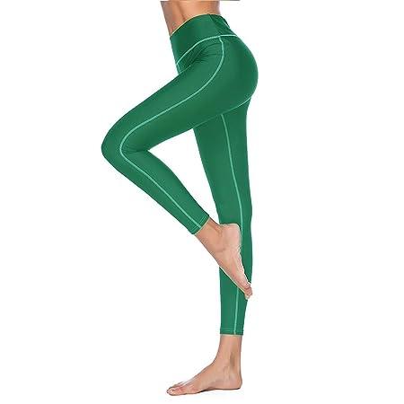 Chengzuoqing Pantalones Legging de Las Mujeres Leotardos de ...