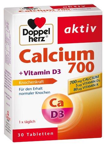 Doppelherz calcio + D3, 2-Pack, 2 x 30 comprimidos: Amazon.es: Salud y cuidado personal