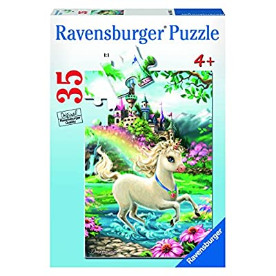 Ravensburger Unicorn Castle 35 Piece Jigsaw Puzzle for Kids – Every Piece is Unique, Pieces Fit Together Perfectly: Toys & Games