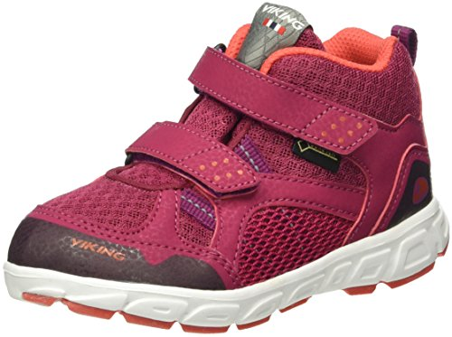 Viking Unisex-Kinder Hobbit Mid Sneaker Pink (Fuchsia/Coral 1751)