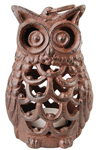Esschert Design Owl Lantern (Owl Lantern)