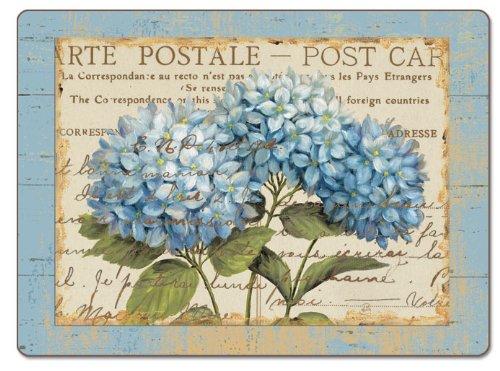 - Counterart Blue Hydrangeas Hardboard Placemat, Set of 2