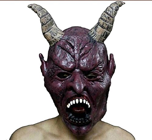 Leoy88 Bloody Horror Halloween Mask Costume Cosplay Carnival (C) (Celebrity Couples Halloween Costumes)