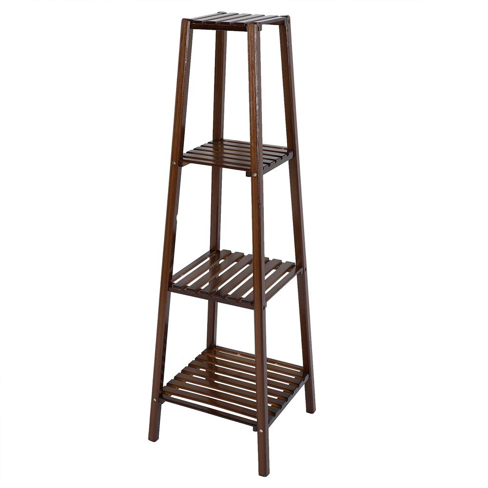 X-Large Jeffergrill Wooden Solid Flowers Plant Rack Shelves for Display Shelf Planting Standing(XL)