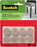 Scotch Brand Felt Pads by 3M, Great for Protecting