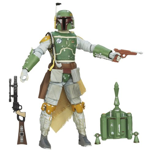 (Star Wars The Black Series Boba Fett Figure 6 Inches)