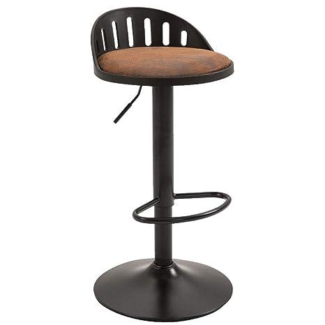 Brilliant Amazon Com American Vintage Black Painted Wrought Iron Bar Machost Co Dining Chair Design Ideas Machostcouk