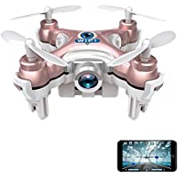 MD Group RC Quadcopter 4CH 6 Axis LED CX10W Mini Wifi FPV with Camera 2.4G