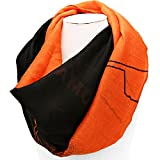 Oklahoma State University Inspired Orange and Black Gameday Infinity Scarf