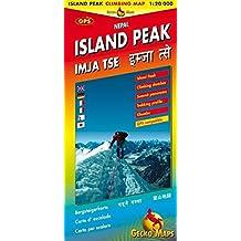 Island Peak, Nepal: Climbing Map