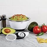 OXO Good Grips 3-in-1 Avocado Slicer, White/Black