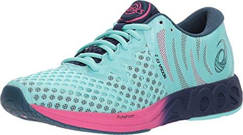 ASICS Noosa FF 2 Women's Running Shoe, Aruba BlueIndigo BlueFuchsia Purple, 9 M US