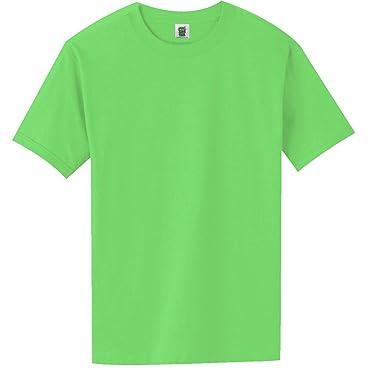 f5e78738b Short Sleeve Bright Neon T-Shirt in 6 Bright Colors | Amazon.com