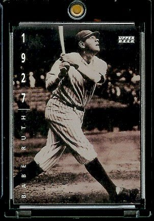 1994 Upper Deck The American Epic Baseball Card #30 Babe Ruth ()
