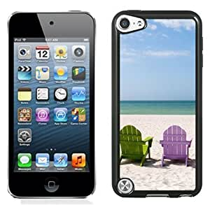 New Personalized Custom Designed For iPod Touch 5th Phone Case For Colored Beach Chairs Phone Case Cover Kimberly Kurzendoerfer
