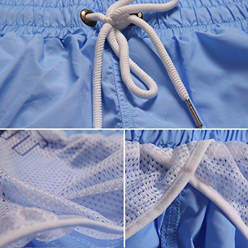 Neleus Men's Dry Fit Short With Pockets