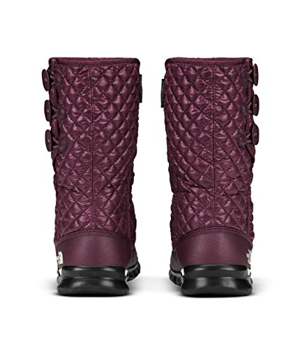 Shiny THE Bottes Vintage Fig White Thermoball 5ug Marron Button FACE Femme de Neige NORTH Insulated up r4PqrUBS