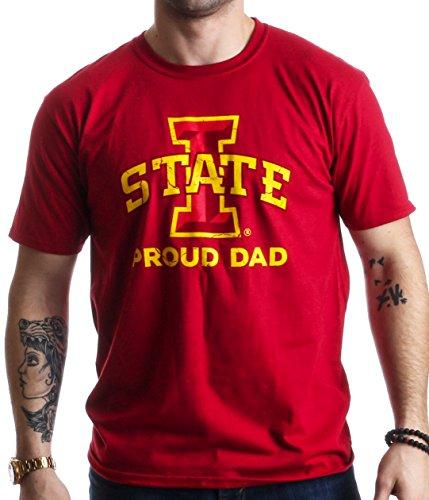 Proud Iowa State University Dad | ISU Cyclone Father Pride Unisex T-shirt