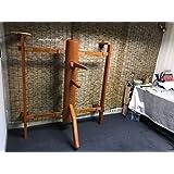 Solid Wall Mounted Wing Chun Wooden Dummy Muk Yan Jongs Wooden Dummies Master Collection-Merbau