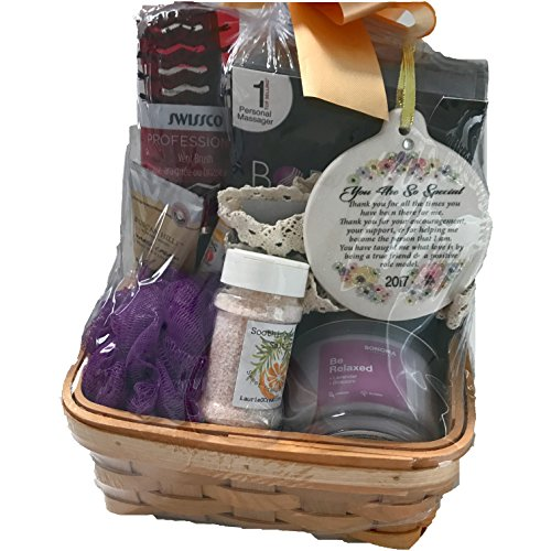 Ultimate Gift Basket You Are So Special to Me 2017 Massage Candle Lotion Porcelain Ornament