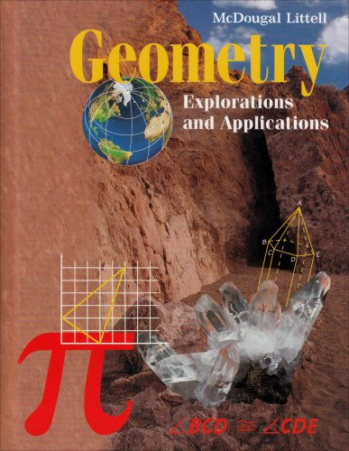 Geometry: Explorations Applications