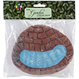 Touch of Nature 1-Piece Miniature Garden Resin Pond, 6-Inch For Sale