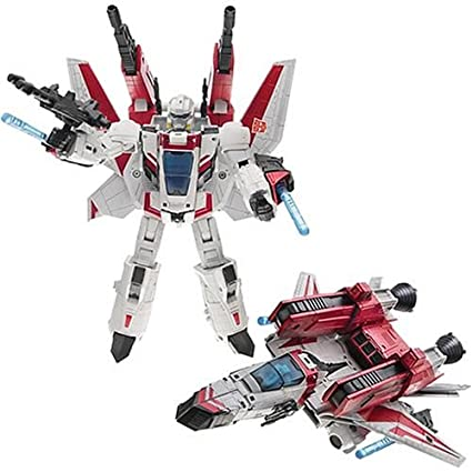Amazon Com Hasbro Jetfire Transformers Voyager Classic Toys Games