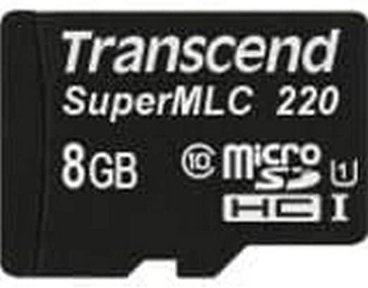 Transcend Ts8gusd220i 8gb Microsdhc Class 10 Slc Memory Computers Accessories
