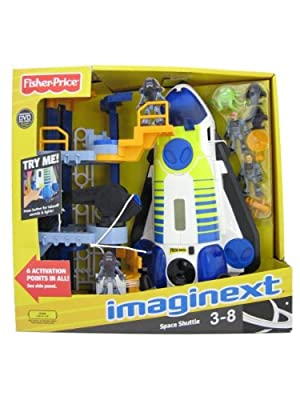 Fisher-price Imaginext Space Shuttle And Tower by Fisher Price