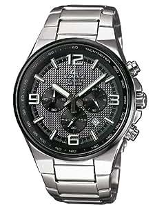 Casio EFR-515D-1A7VEF - Reloj analógico de cuarzo para hombre con correa de acero inoxidable, color plateado