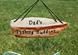 Dad's Fishing Buddies Custom Wind Chime--Made to Order
