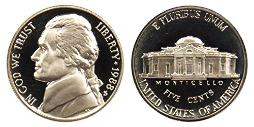 1988 S Proof Jefferson Nickel PF1