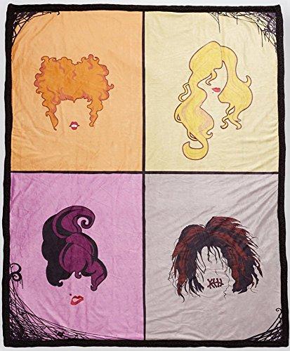 Hocus Pocus Sanderson Sisters Hair Fleece Blanket -