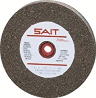 United Abrasives-SAIT 28103 6 by 1 by 1 GC60 Bench Grinding Wheel Vitrified, 1-Pack