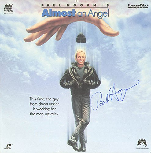 Hogan Cover - Paul Hogan - Laser Media Cover Signed