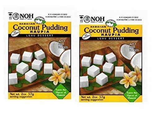 (Noh Food Hawaiian Mixes Luau (2 Pack) (Coconut Haupia)