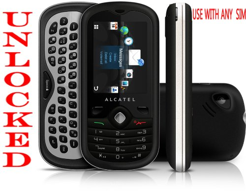 Alcatel Sparq OT-606a T-Mobile Unlocked GSM Qwerty Slider Cell Phone (Tmobile Cell Phones Slide)