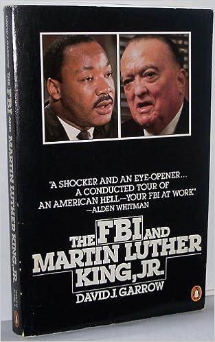 The F.B.I. and Martin Luther King, Jr.: David J. Garrow: 9780140064865: Amazon.com: Books