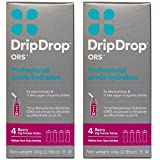 DripDrop ORS Gluten Free 21g Hydration Powder Sticks, 4 Packet Boxes, Berry, 2 Count