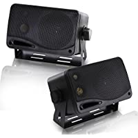 Pyramid 2022SX 200-Watt 3-Way Mini Box Speaker System