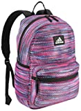 Best Mesh Backpacks - adidas Hermosa Mesh Backpack, Sunset Shock Pink, One Review