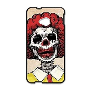 Personalized Creative Cell Phone Case For HTC M7,fuuny interesting joker