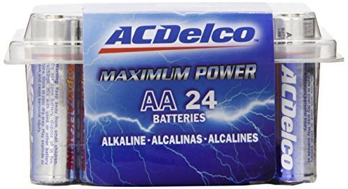 ACDelco AA Super Alkaline Batteries, 24-Count by ACDelco