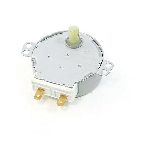 Amazon.com: Uxcell Motor Síncrono AC 220 V/240 V 4 W 4 – 4,8 ...